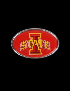 ISU Metal Oval Auto Emblem-0