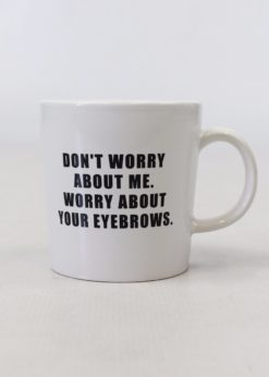 Ceramic Mug Eyebrows-0