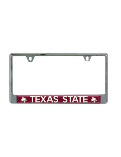 TXST Texas State License Plate Frame Barefoot Campus Outfitter