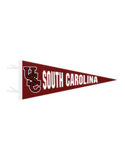 USC South Carolina felt pennant Barefoot Campus Outfitter