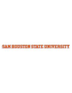 SHSU Sam Houston State University Car Sticker Barefoot Campus Outfitter