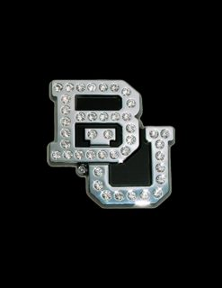 BU Crystal Chrome Emblem-0
