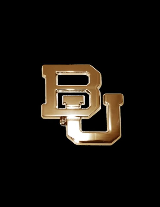 BU Gold Chrome Emblem-0