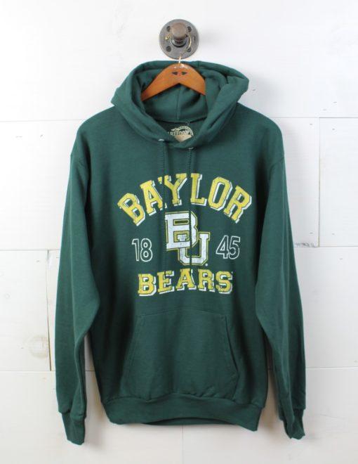 BU Vintage Bear Hoodie-0