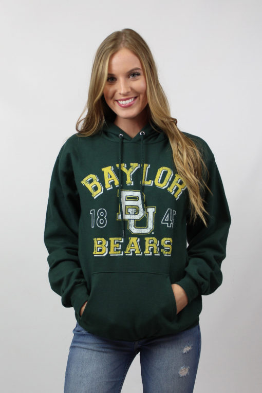 BU Vintage Bear Hoodie-26239