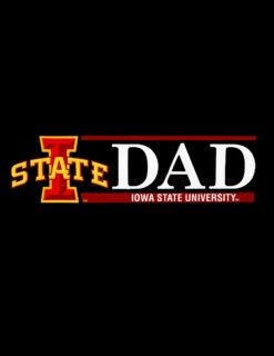 ISU Dad Decal-0