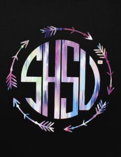 SHSU Monogram Pattern Decal-0