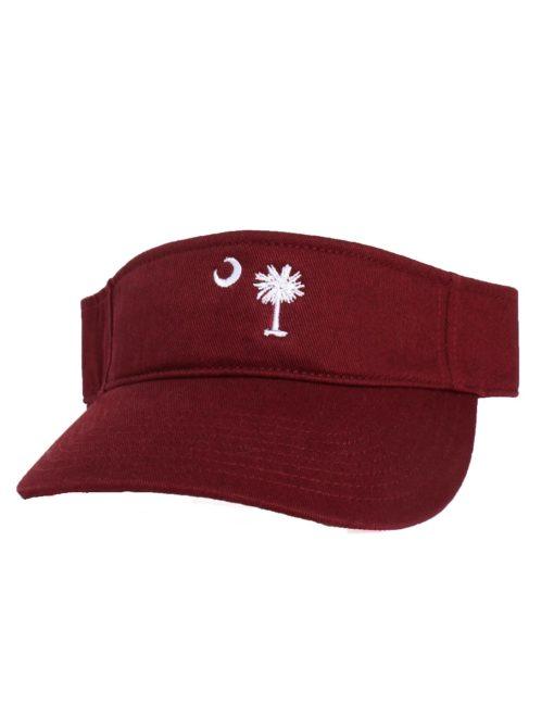 Palmetto Flag Visor-0