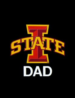ISU DAD BNS Decal Dad-0