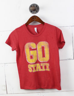 ISUYouth Go State BigTime Font REDTRI-0
