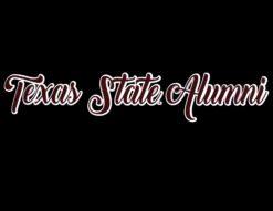 TXST Alumni Girly Decal-0