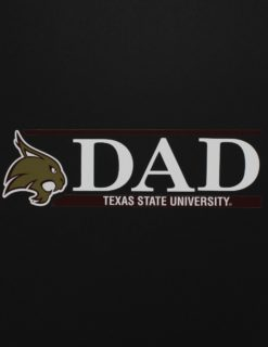 TXST DAD Decal-0