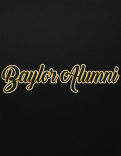 BU Alumni Girly Decal-0