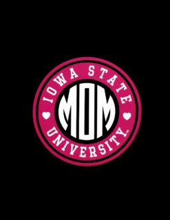 ISU Mom Circle of Love Decal-0