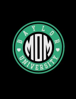 BU Mom Circle of Love Decal-0
