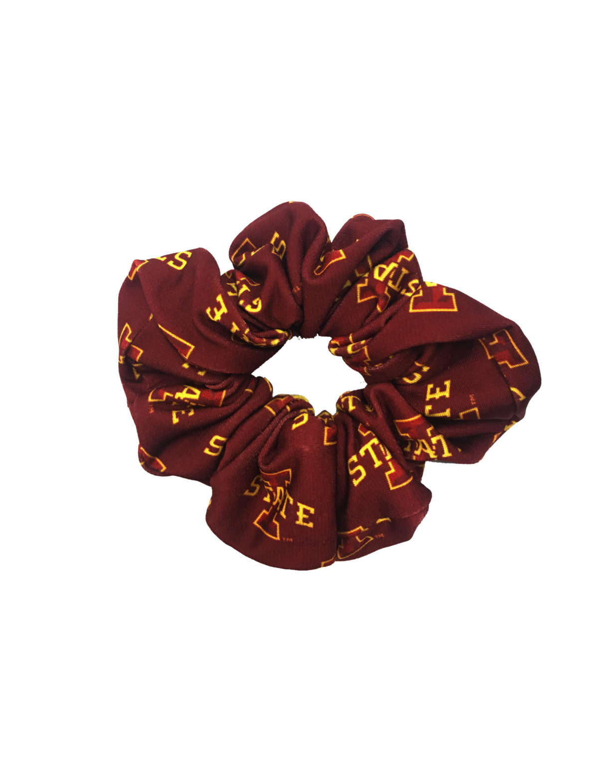 ISU Iowa State hair scrunchie Barefoot Campus Outfitter