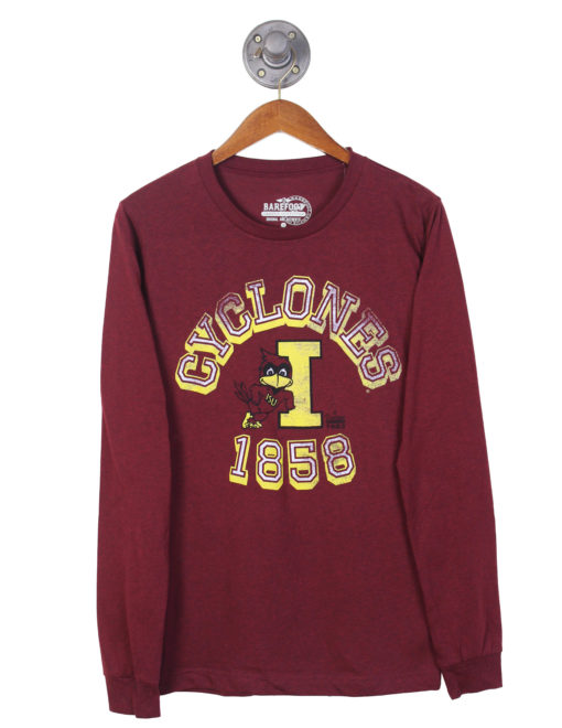 ISU Long Sleeve Tee Barefoot Campus Outfitter