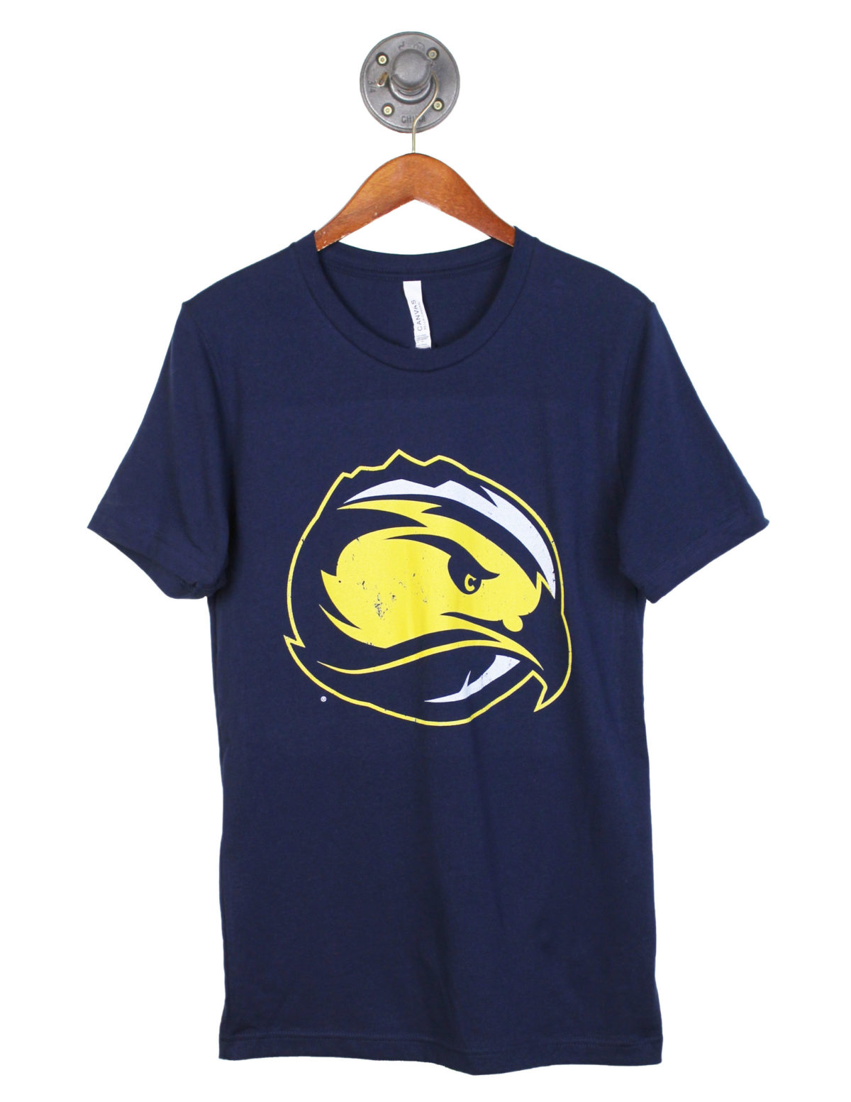 Fort Lewis College Sky Hawks logo short sleeve tshirt Barefoot Campus Outfitter