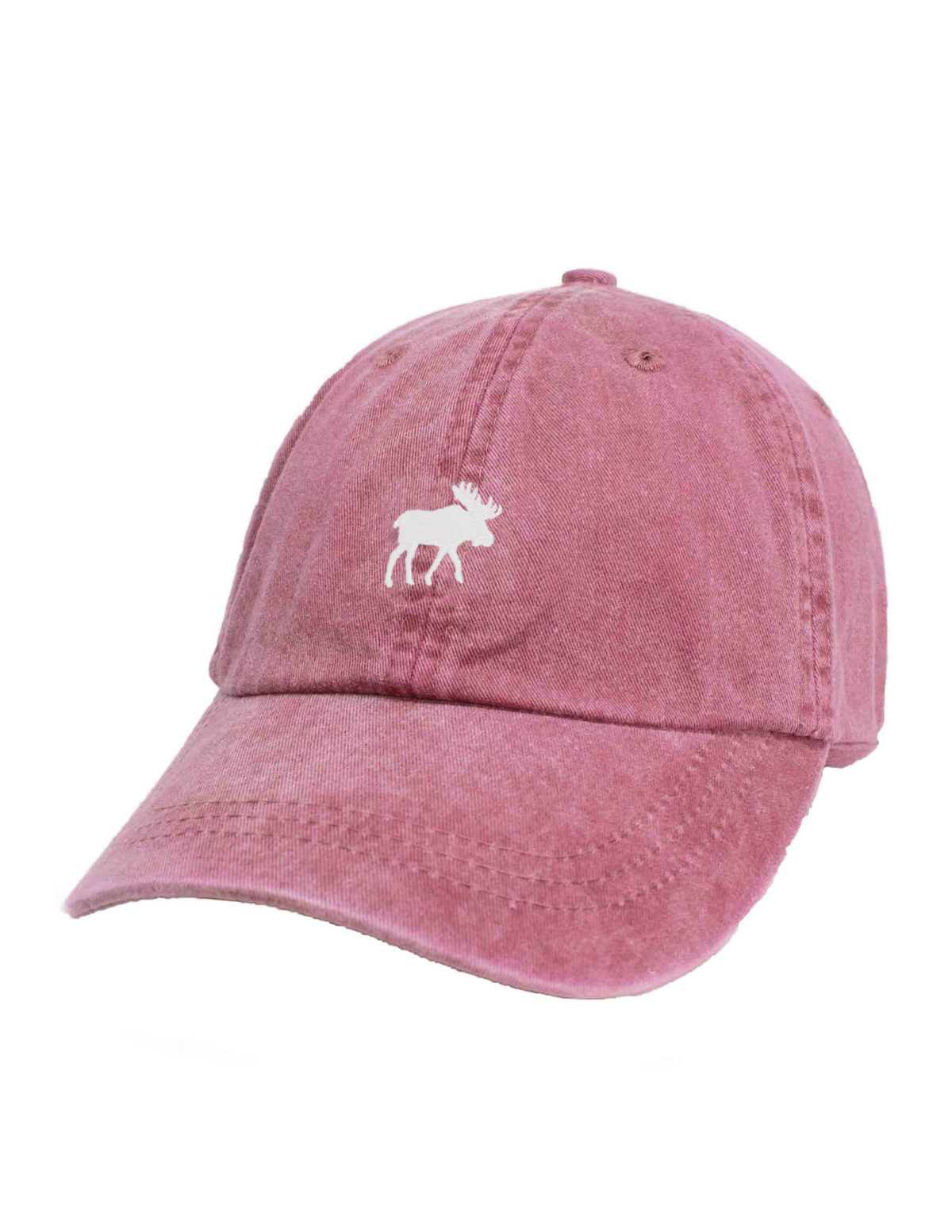 Adjustable embroidered moose cap Barefoot Campus Outfitter