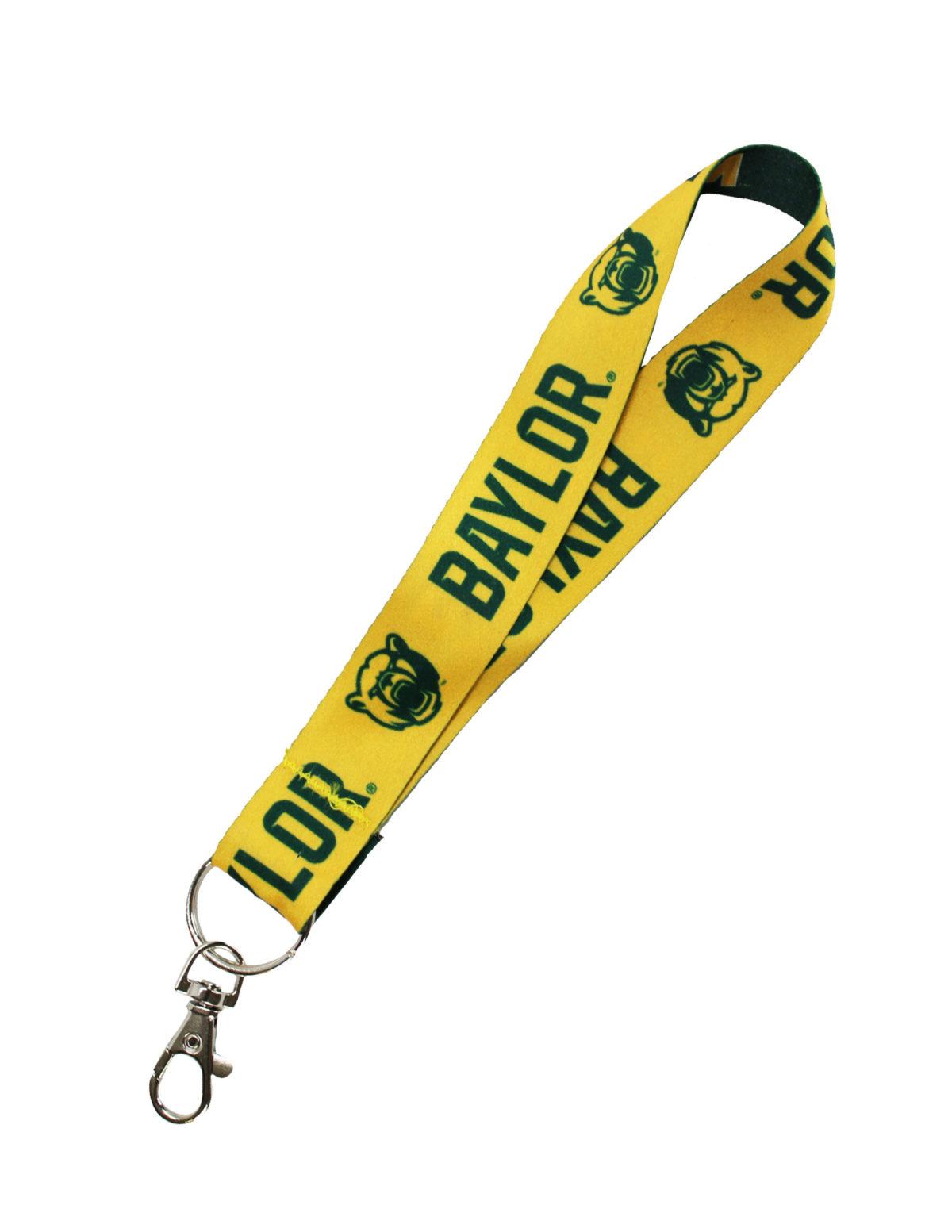BU Baylor Sic Em lanyard key strap Barefoot Campus Outfitter