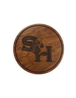 SHSU Sam Houston wood coaster set Barefoot Campus Outfitter