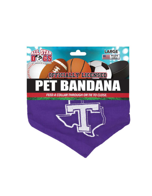 TSU Tarleton State dog bandana Barefoot Campus Outfitter