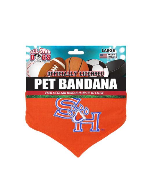 SHSU Sam Houston dog bandana Barefoot Campus Outfitter