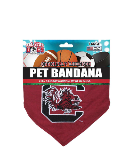 USC South Carolina dog bandana Barefoot Campus Outfitter