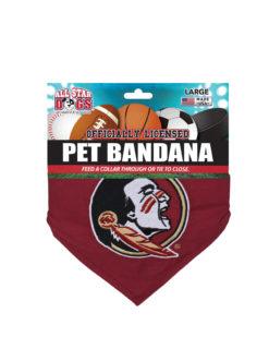 FSU Florida State dog bandana Barefoot Campus Outfitter