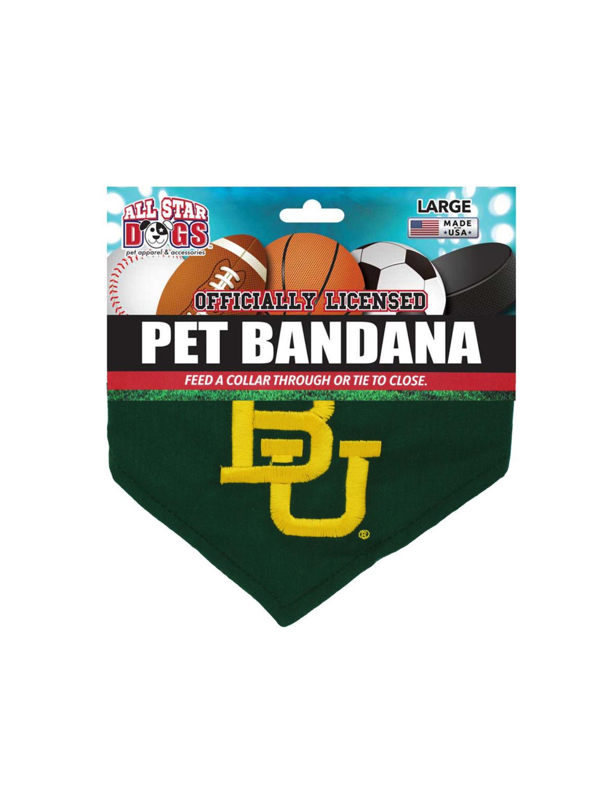 BU Baylor dog bandana Barefoot Campus Outfitter