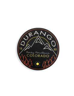 Blue 84 Durango Colorado sticker Barefoot Campus Outfitter