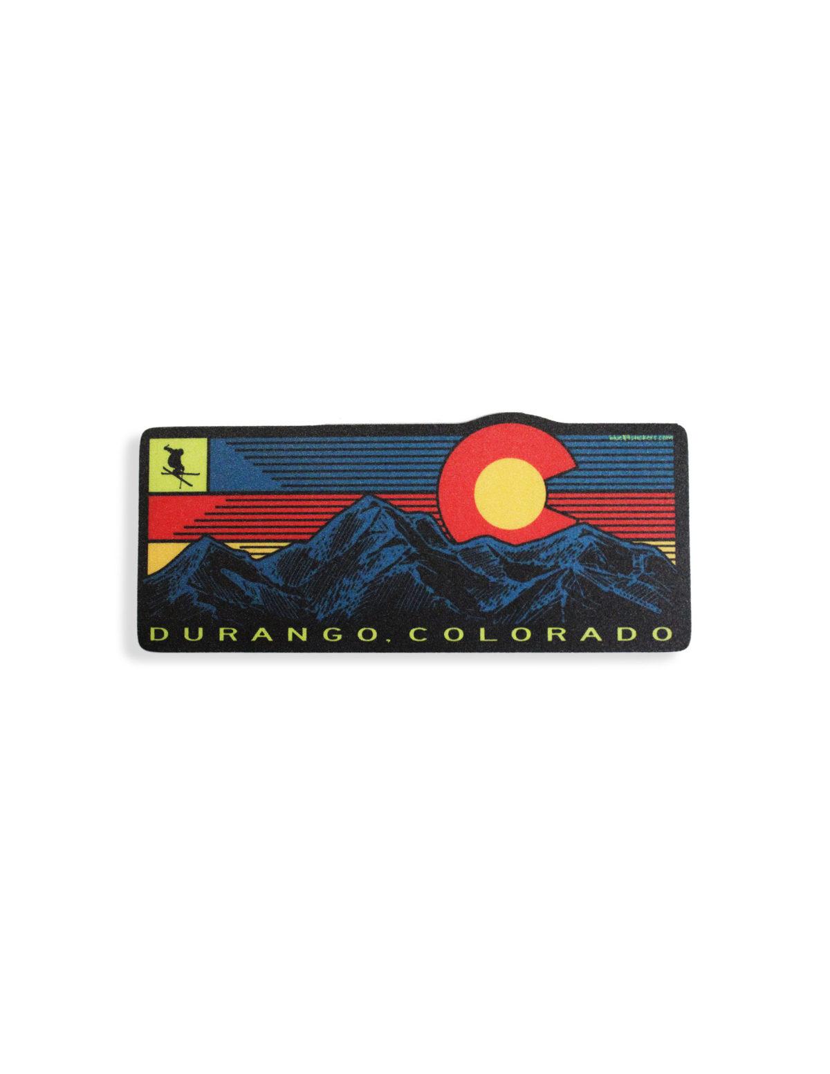 Blue 84 Durango sticker Barefoot Campus Outfitter