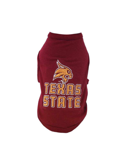 TXST Texas State Dog Shirt Barefoot Campus Outfitter