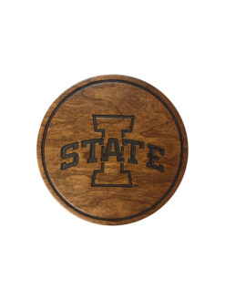 ISU I State wooden coasters Barefoot Campus Outfitter