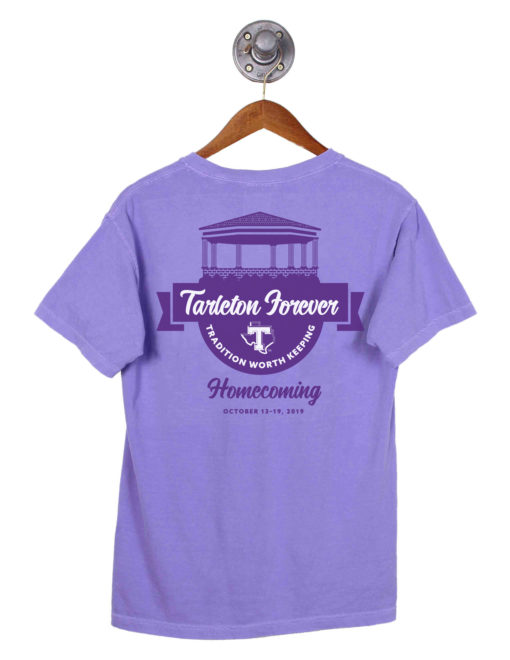 TSU Tarleton State Homecoming short sleeve tee Barefoot Campus Outfitter