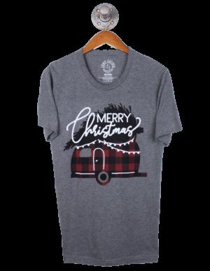 Barefoot Holioday Tee Shirt - Merry Christmas